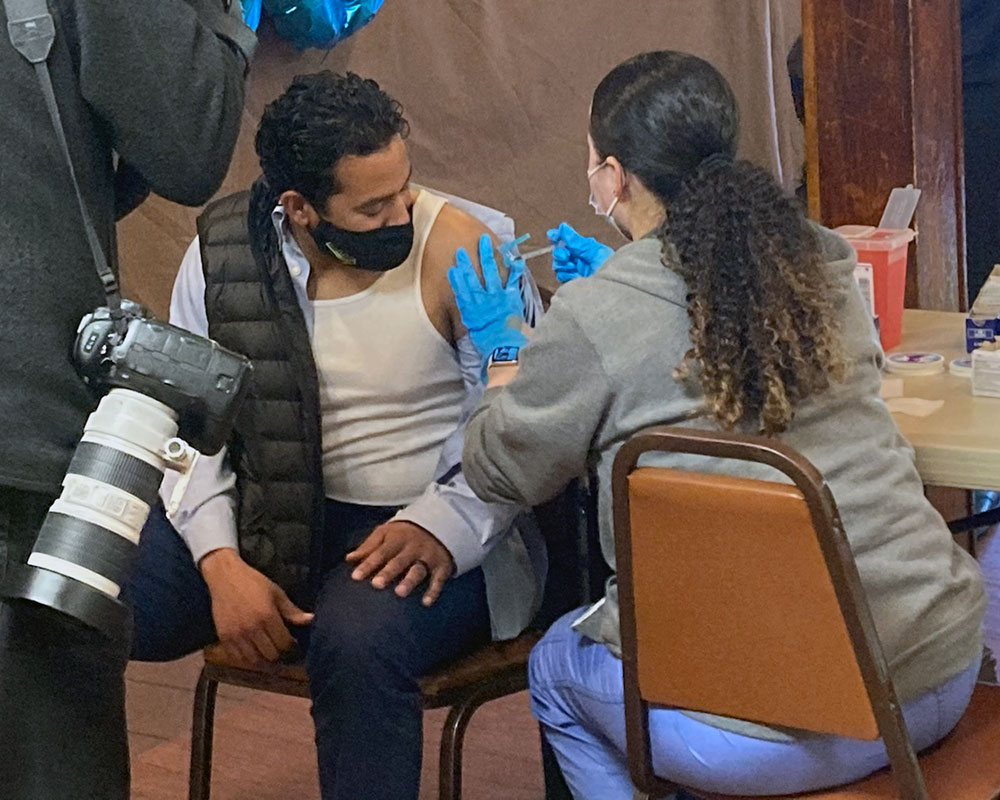 Planned May 23 Clinic Builds on Success of Weekend Vaccinations of Latinos, Young People