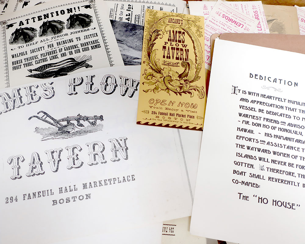 Haverhill's Museum of Printing Acquires Vintage Wood Ornamental Type Collection