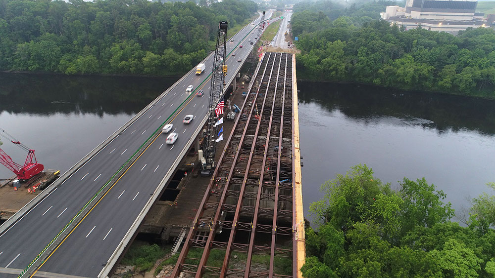 I-495 Construction Update: Southbound Steel Beams Complete; Lane Closings This Week