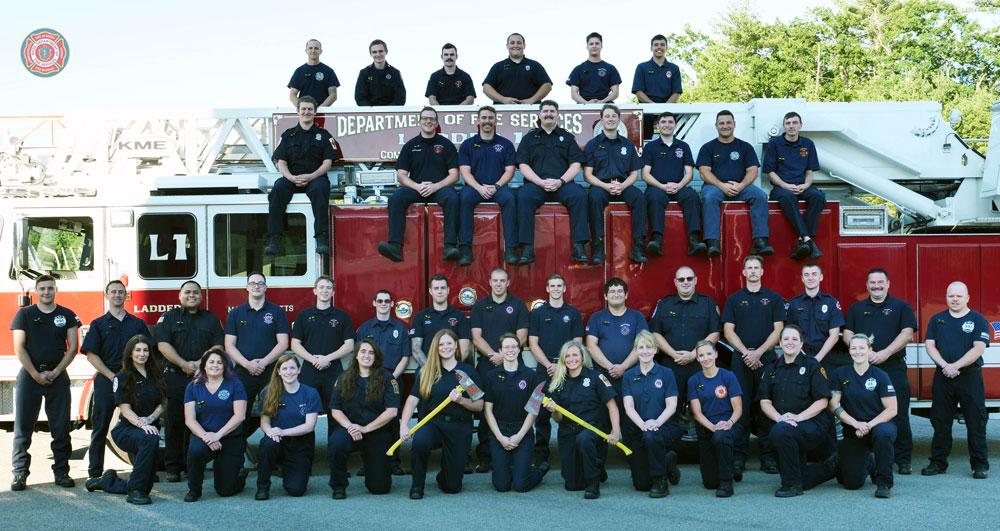 Groveland, West Newbury and Merrimac Firefighters Graduate From Academy