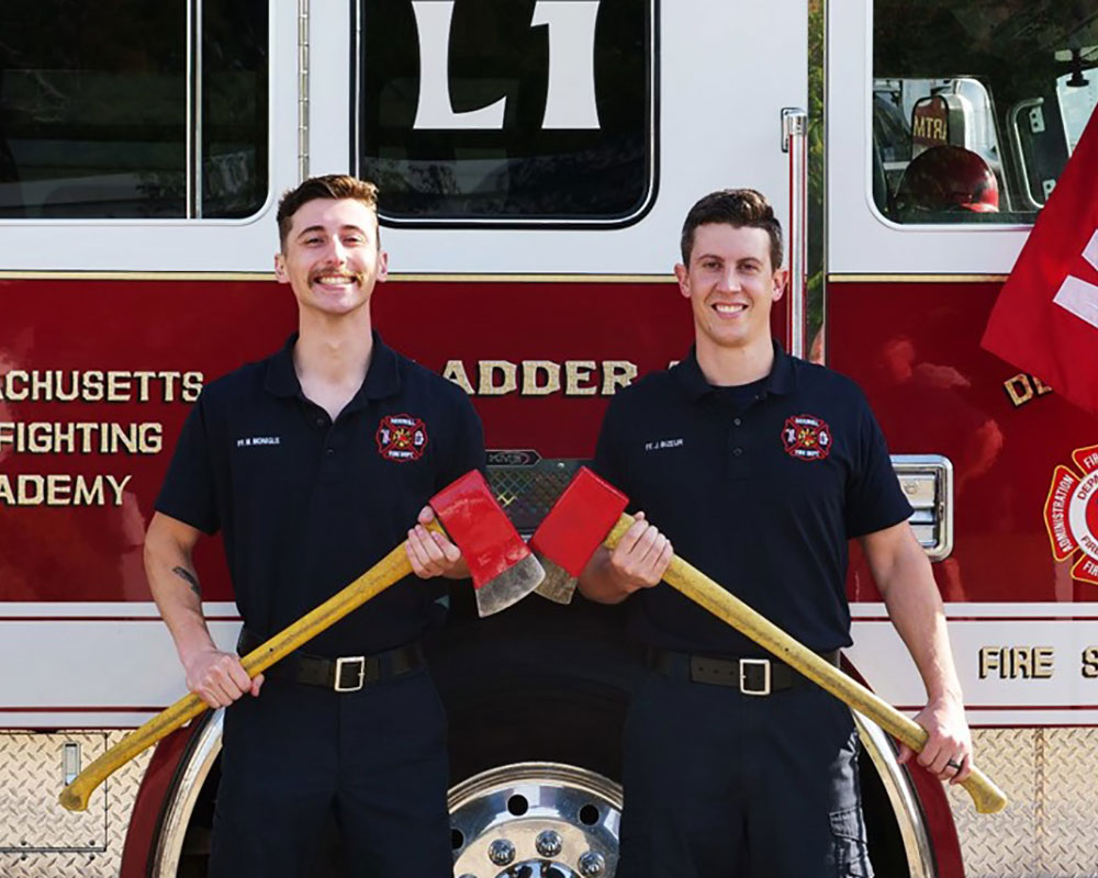 Two Haverhill Firefighters Graduate From Mass. Firefighting Academy Training Program