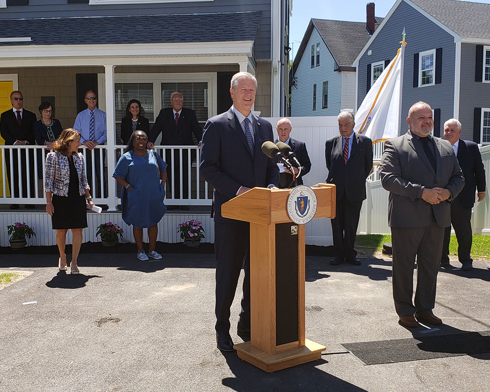 Gov. Baker Picks Haverhill to Make His Case to the Legislature for Spending of Federal Relief Aid