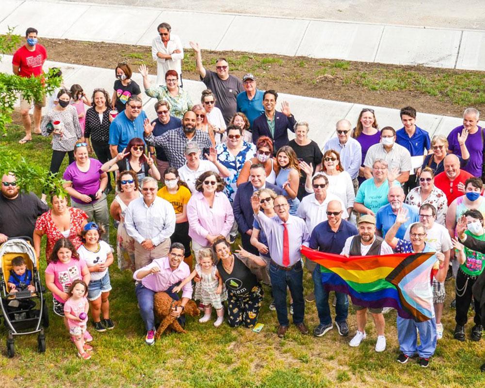 Haverhill's LGBTQA+ Pride Flag-Raising Ceremony Kicks Off Month-Long Celebration