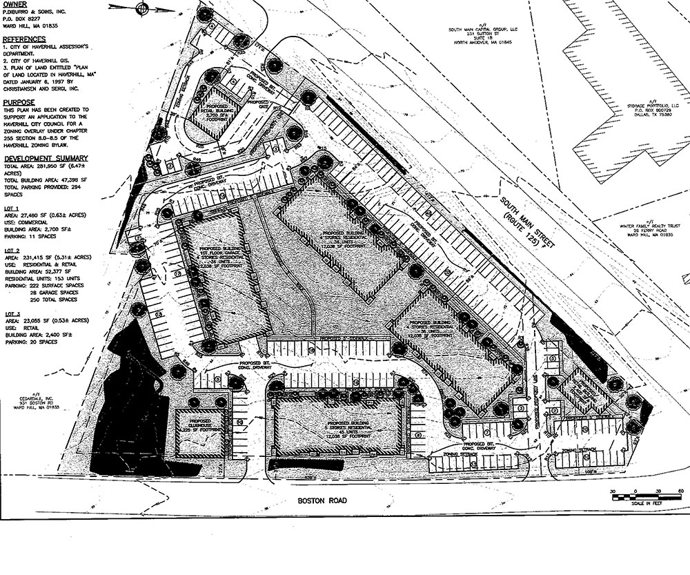 Councilors Vote 7-1 to Approve Zoning to Allow 152 Apartments at DiBurro's Site in Ward Hill