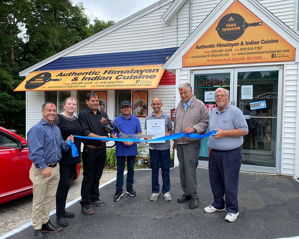 Tawa Tandoor Restaurant Celebrates Opening on Haverhill's Northern 'Restaurant Row'