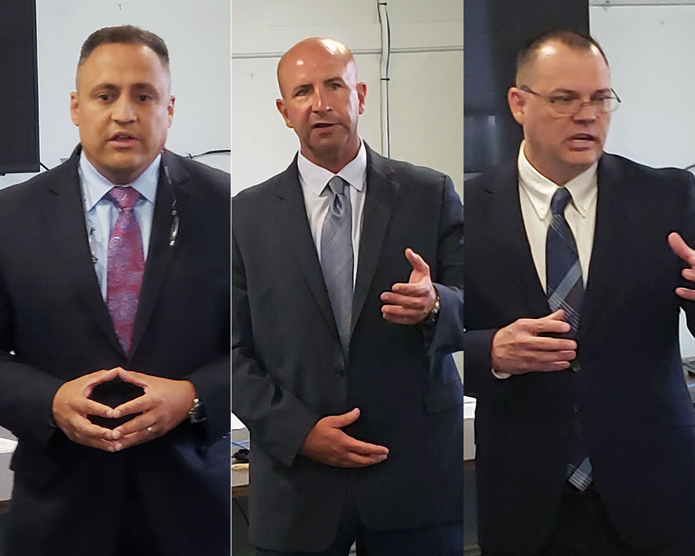Haverhill Police Chief Candidates Discuss Leadership During Crises at Public Interviews