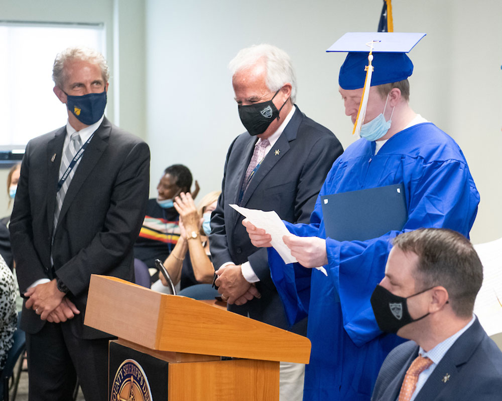 Essex County Inmates Receive Recognition After Completing Northern Essex College Courses