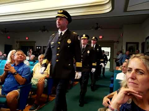 City Swears in New Police Chief Pistone, Who Promises Openness and 'a New Era of Policing'