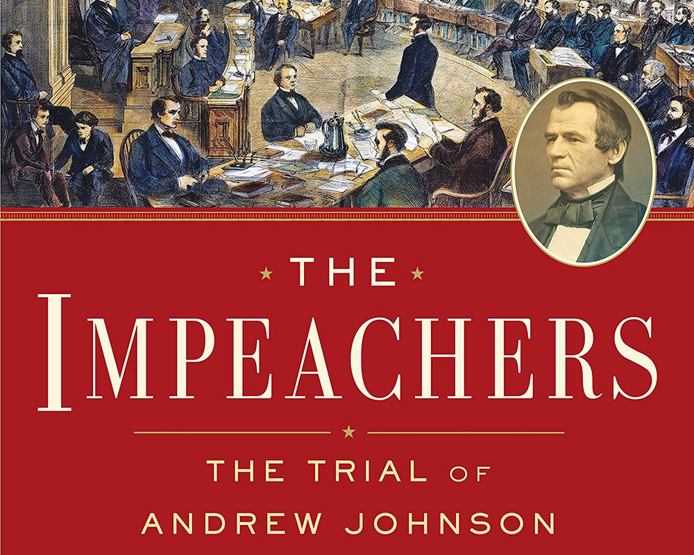 Haverhill Author Discusses Her Book  on the Impeachment Trial of Andrew Johnson