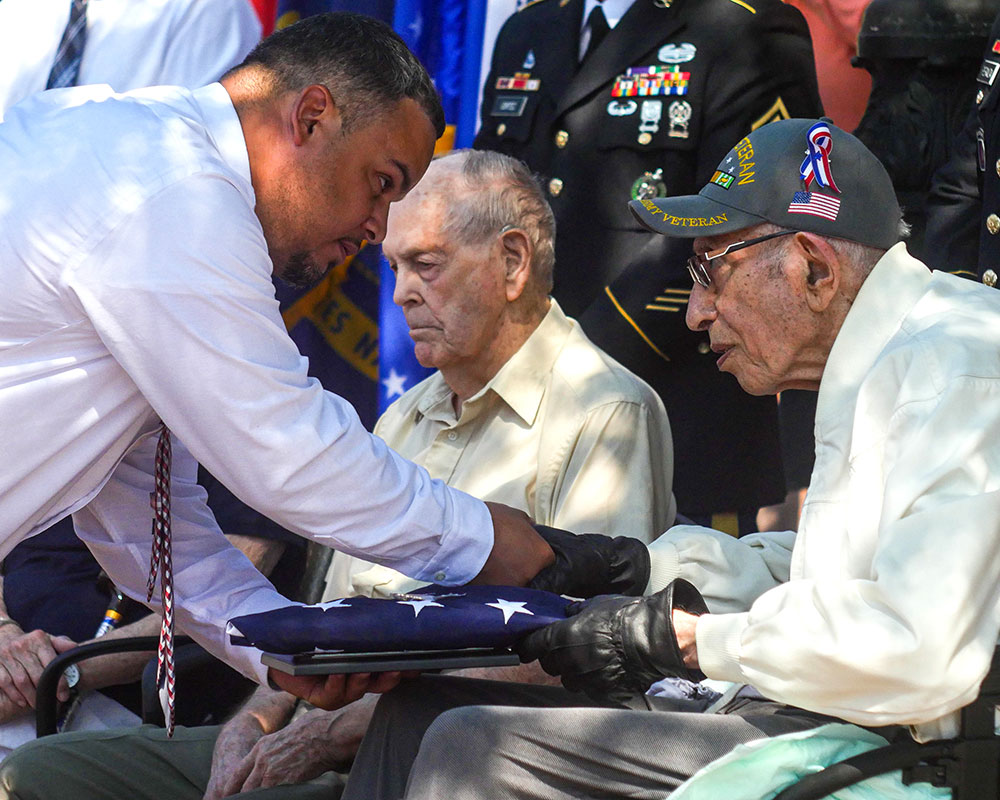 Haverhill Honors its Living World War II Veterans During Downtown Ceremony Saturday