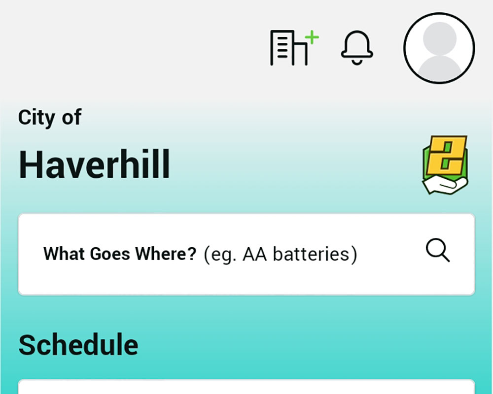 Haverhill Trash Collections on Regular Schedule Despite Holiday