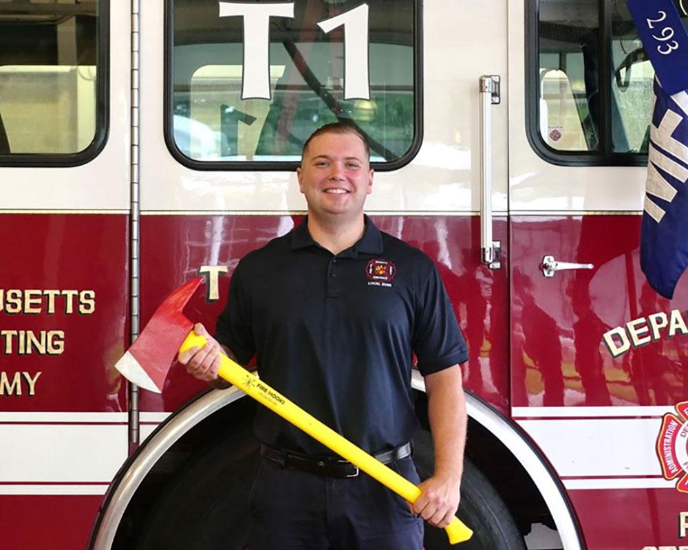 North Andover Firefighter Bird Among 23 Graduates of Massachusetts Fire Academy