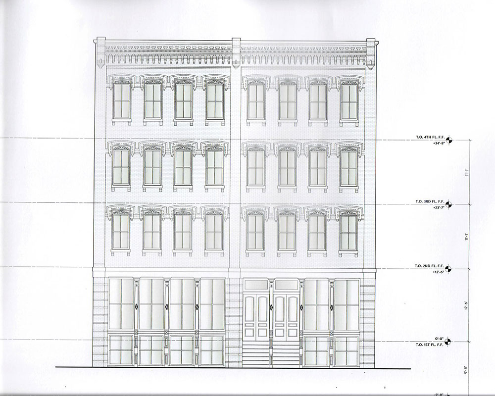 City Council Hears Plans Tonight for 15 Market Rate Apartments Above Downtown Haverhill Restaurants