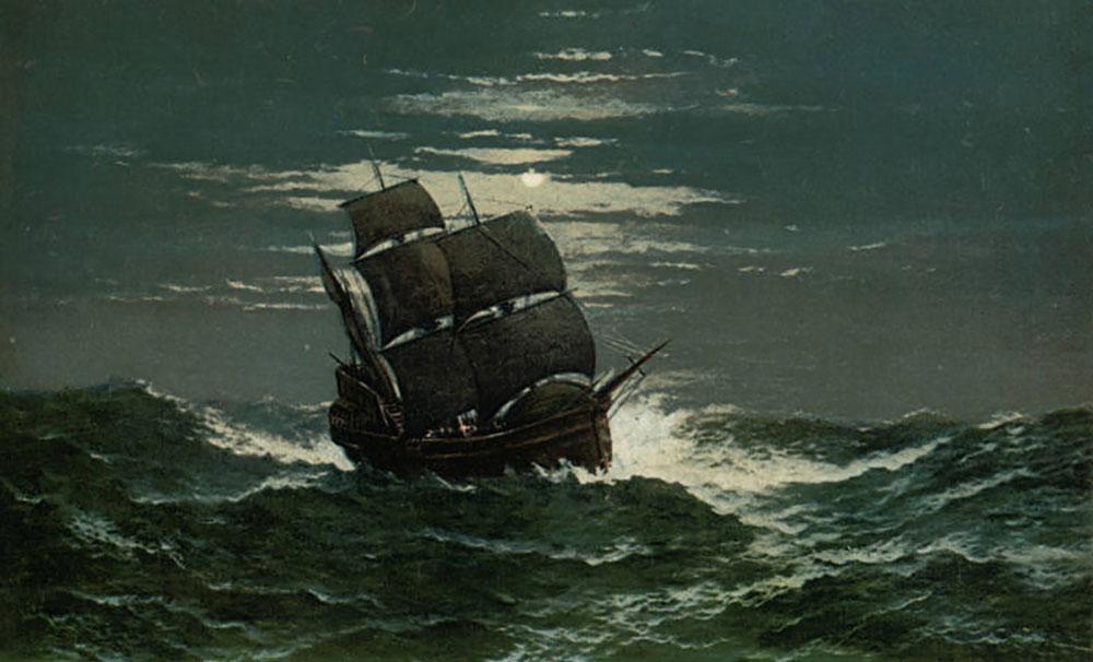 Mayflower's Crossing 400 Years Ago Theme of Atkinson Garden Club Show Aug. 27-28