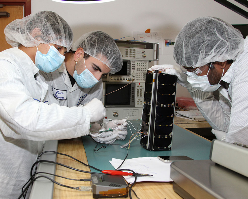 UMass Lowell Students Build Satellite to Be Launched by NASA Saturday Morning
