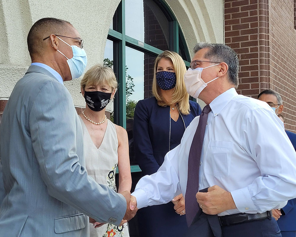 U.S. Health and Human Services Secretary Becerra Advocates for COVID-19 Vaccines in Valley Visit