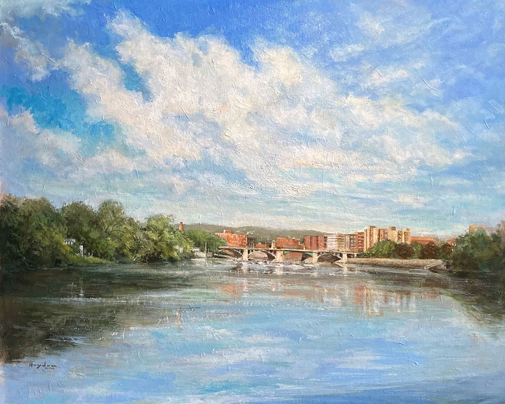 Works of Copley Master Mark Hayden on Display Through Aug. 14 at Buttonwoods Museum