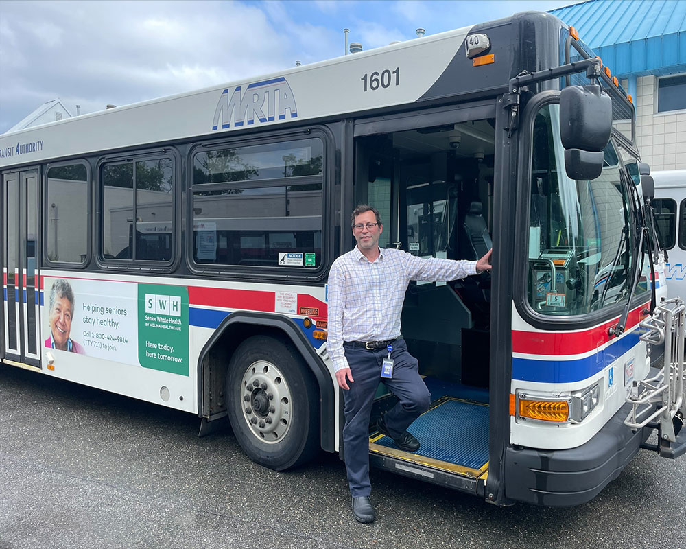 New MVRTA Chief Maps Plans to Improve Bus Stop Visibility, Rebuild Ridership in Aftermath of COVID-19