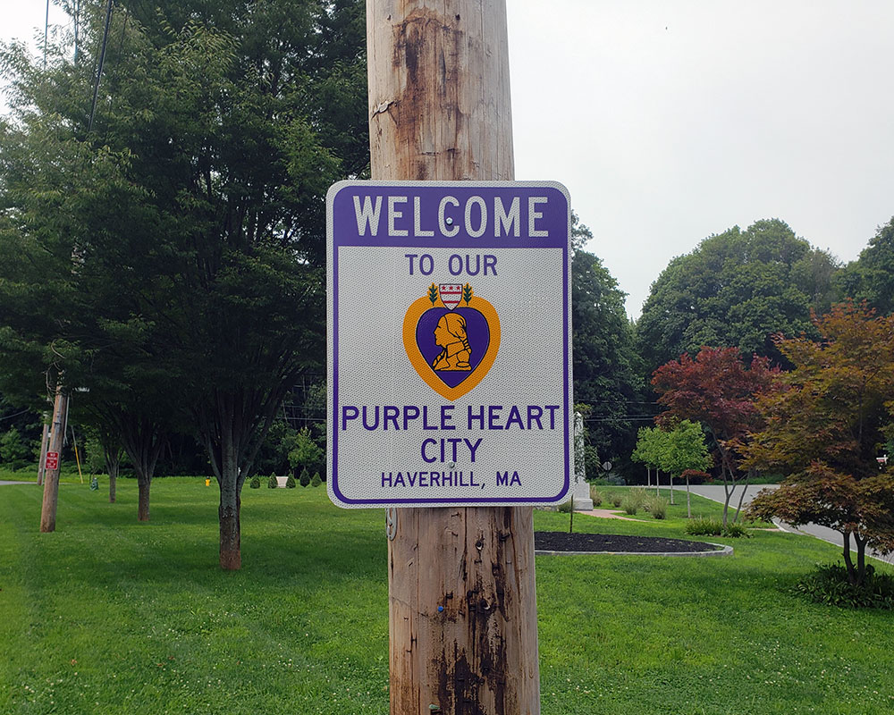 Haverhill and Methuen Become Purple Heart Communities in Ceremonies Saturday Morning