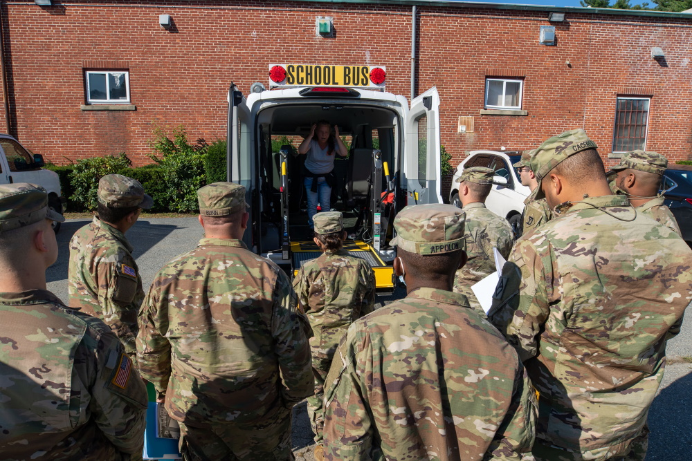 Haverhill Schools to Receive National Guard Help This Week to Drive Mini Vans and Mini Buses
