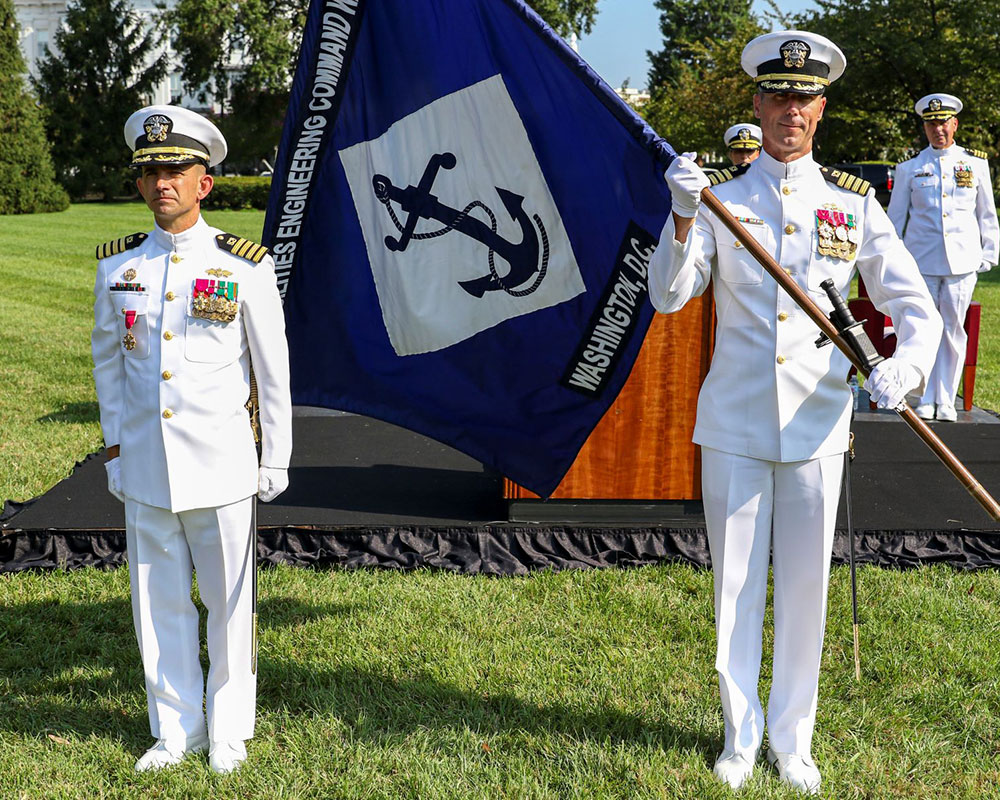 Andover Native Hawn Takes Over at Naval Facilities Engineering Systems Command in Washington