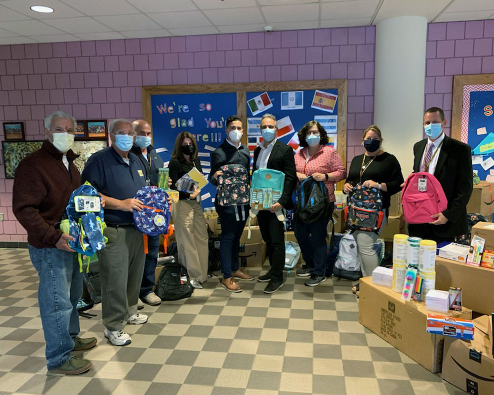 Coalition Successfully Completes Haverhill School Backpack and Supplies Drive