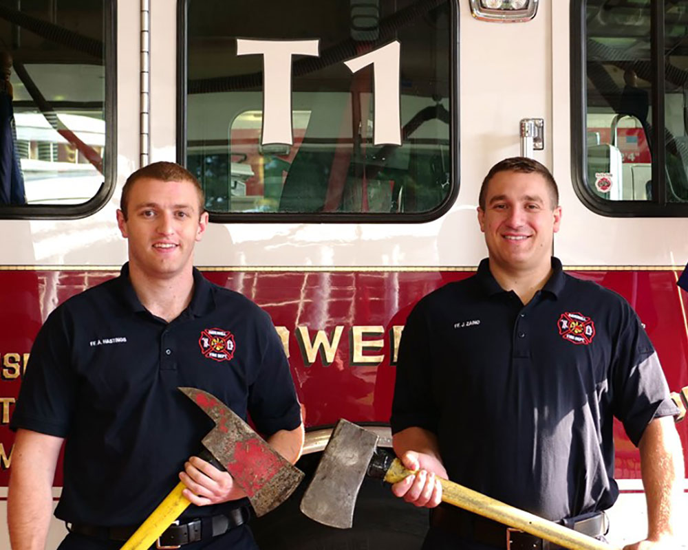 Two Haverhill, One Lawrence Firefighter Among Friday's Firefighting Academy Graduates