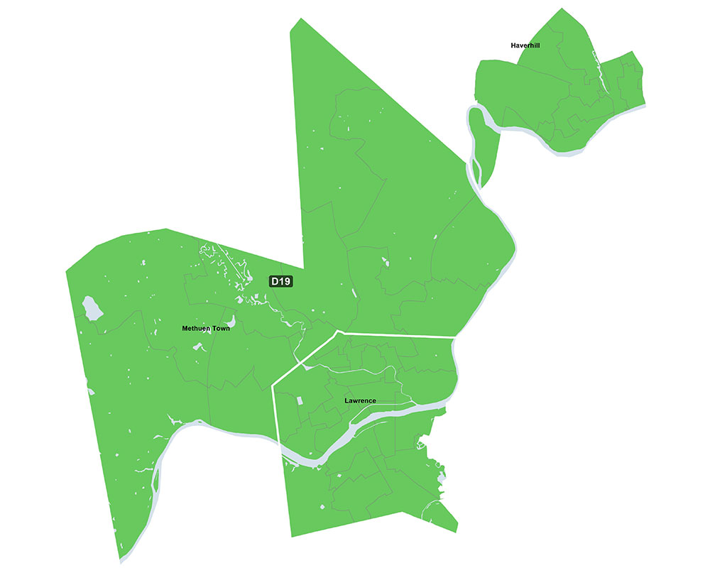 Redistricting Splits Haverhill Into Two Senate Districts; Vargas Says Plan Weakens City Voters