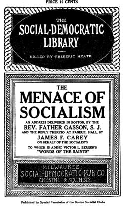 Menace of Socialism flyer